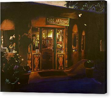 Taos New Mexico Canvas Print by Katherine Puterka