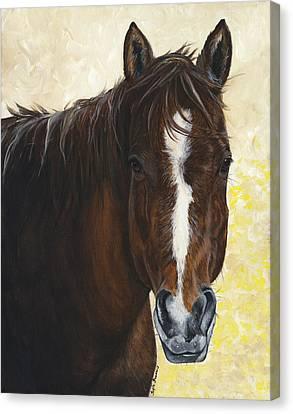 Tara Canvas Print by Twyla Francois