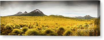 Tasmania Mountains Of The East-west Great Divide  Canvas Print by Jorgo Photography - Wall Art Gallery