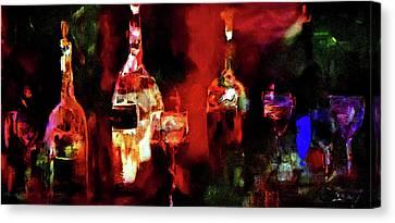 Taste Of Wine Canvas Print by Lisa Kaiser