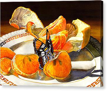 Tasty Canvas Print by Catherine G McElroy