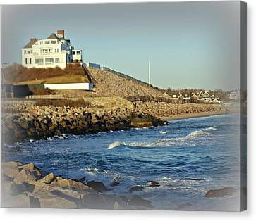 Taylor Swift Rhode Island Home Canvas Print by Diane Valliere