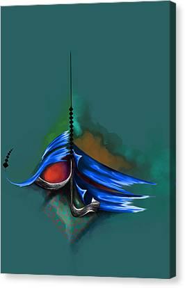 Tc Al Maalik 5 Canvas Print by Team CATF