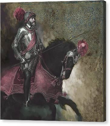 Tcm Spanish 161 3  Canvas Print by Mawra Tahreem