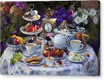 Tea For Two Canvas Print by © Simon Kayne