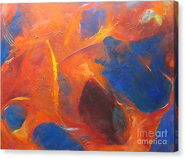 Tearing Apart Canvas Print by Pax Bobrow