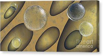 Tears Of Gold Canvas Print by Richard Rizzo