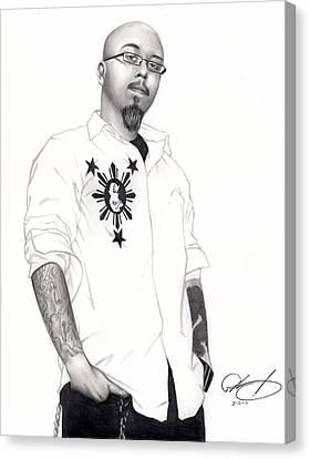 Teflon Don Canvas Print by Pete Tapang