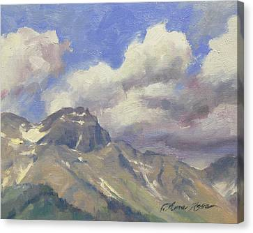 Telluride Clouds Canvas Print by Anna Rose Bain
