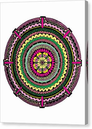 Temblor Canvas Print by Elizabeth Davis
