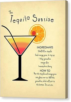 Tequila Sunrise Canvas Print by Mark Rogan