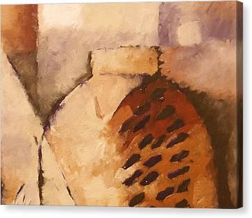 Terracotta Canvas Print by Lutz Baar