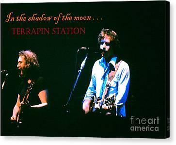 Terrapin Station - Grateful Dead Canvas Print by Susan Carella