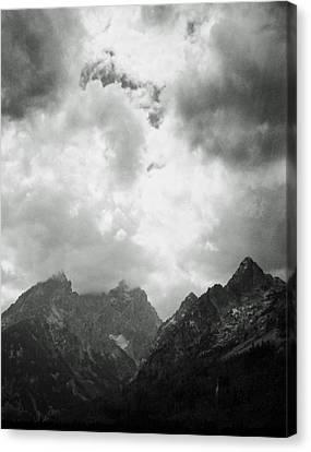 Teton Sky Canvas Print by Allan McConnell