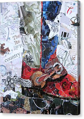 Texas Boot Canvas Print by Suzy Pal Powell