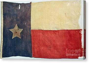 Texas Flag, 1842 Canvas Print by Granger