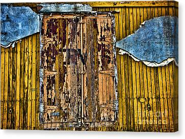 Textured Wall Canvas Print by Ray Laskowitz - Printscapes