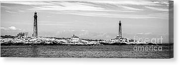Thacher Island Canvas Print by Charles Dobbs