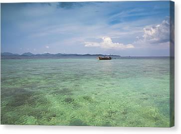 Thai Nok, Thailand Canvas Print by Photo by Jim Boud