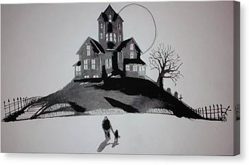 That House Canvas Print by Ronald Mcduff