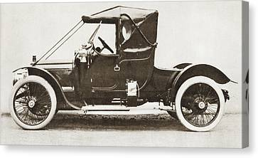 The 1910 Austin Ascot Car. From The Canvas Print by Vintage Design Pics