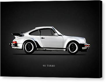 The 911 Turbo 1984 Canvas Print by Mark Rogan