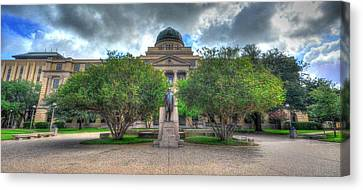 The Academic Building Canvas Print by David Morefield