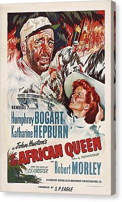 The African Queen B Canvas Print by Movie Poster Prints