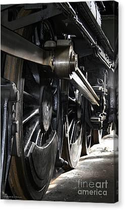 The Age Of Steam Canvas Print by Steven Brennan