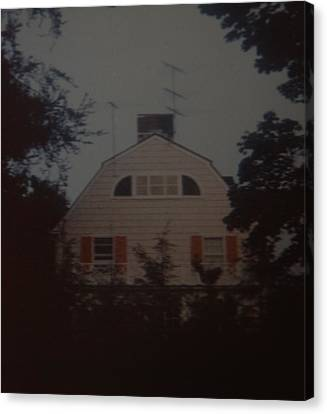 The Amityville Horror Canvas Print by Rob Hans