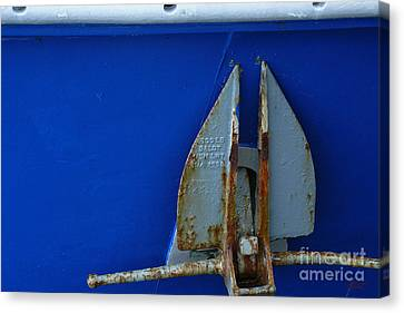 The Anchor Canvas Print by Jeff Breiman