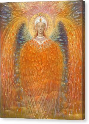 The Angel Of Justice Canvas Print by Annael Anelia Pavlova