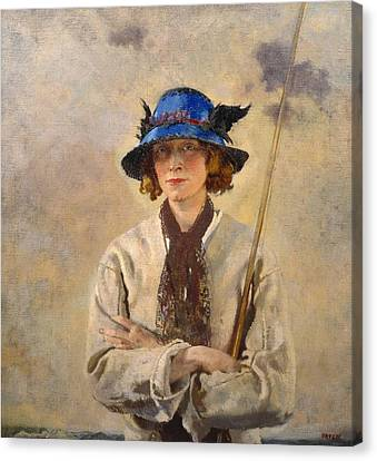 The Angler Canvas Print by William