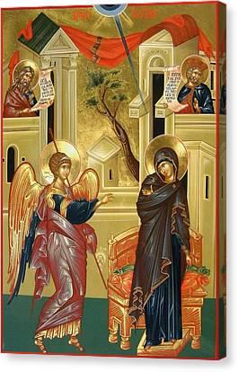 The Annunciation Canvas Print by Daniel Neculae