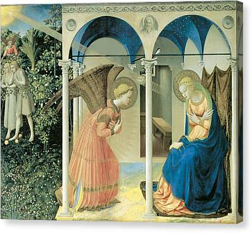 The Annunciation Canvas Print by Fra Angelico  Guido Di Pietro