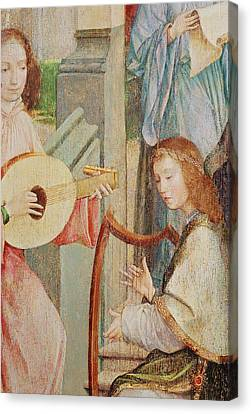 The Annunciation Canvas Print by Taborda Vlame Frey Carlos