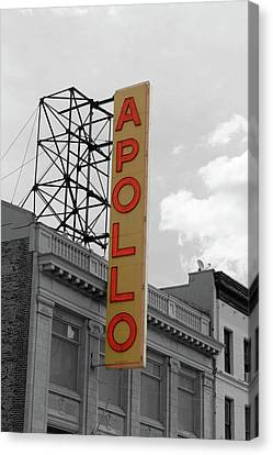 The Apollo In Harlem Canvas Print by Danny Thomas