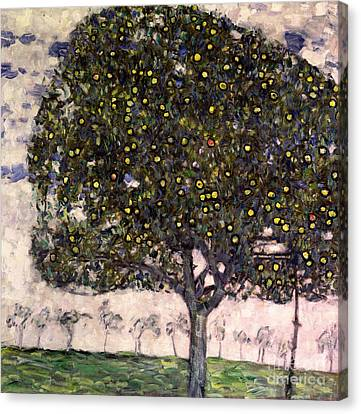 The Apple Tree II Canvas Print by Gustav Klimt