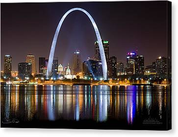 The Arch Canvas Print by Shane Psaltis