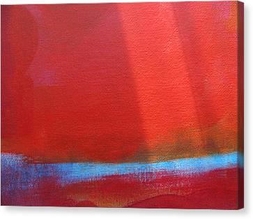 The Arctic Grid Canvas Print by Lindie Racz
