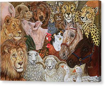The Ark Spread Canvas Print by Ditz