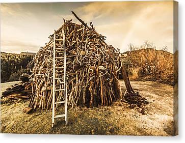 The Art Of Bonfires Canvas Print by Jorgo Photography - Wall Art Gallery