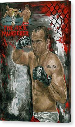 The Axe Murderer Canvas Print by David Courson