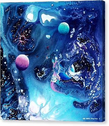 The Baby Ceraphladon Canvas Print by Lee Pantas