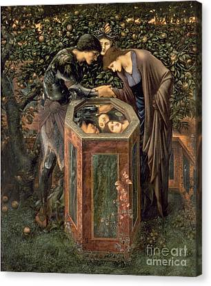 The Baleful Head Canvas Print by Sir Edward Burne-Jones