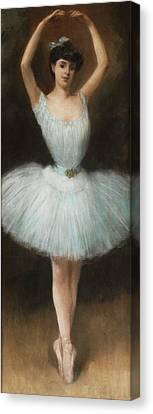 The Ballet Dancer By Pierre Carrier Belleuse 1932 Canvas Print by Movie Poster Prints
