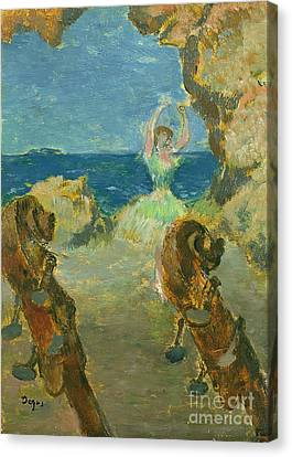 The Ballet Dancer Canvas Print by Edgar Degas