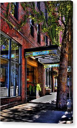 The Barney Mccoy Cafe Canvas Print by David Patterson