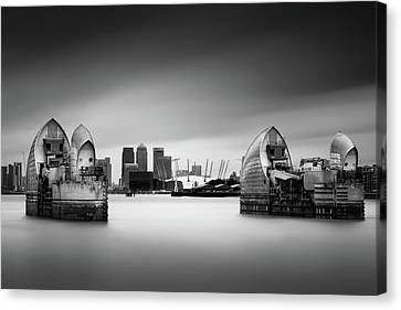 The Barrier Canvas Print by Ivo Kerssemakers