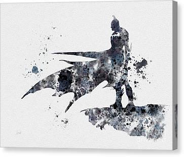 The Bat Canvas Print by Rebecca Jenkins